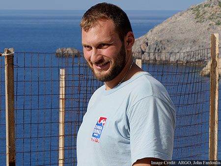 Nikolas Giannoulakis, technical diving instructor