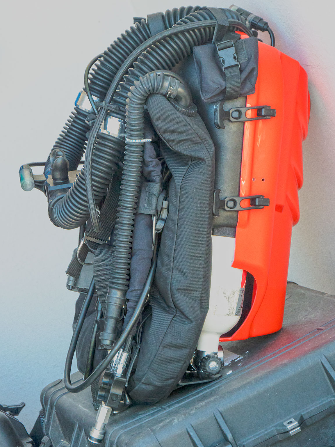 This is the VMS Sentinal rebreather that most of the team is using.
