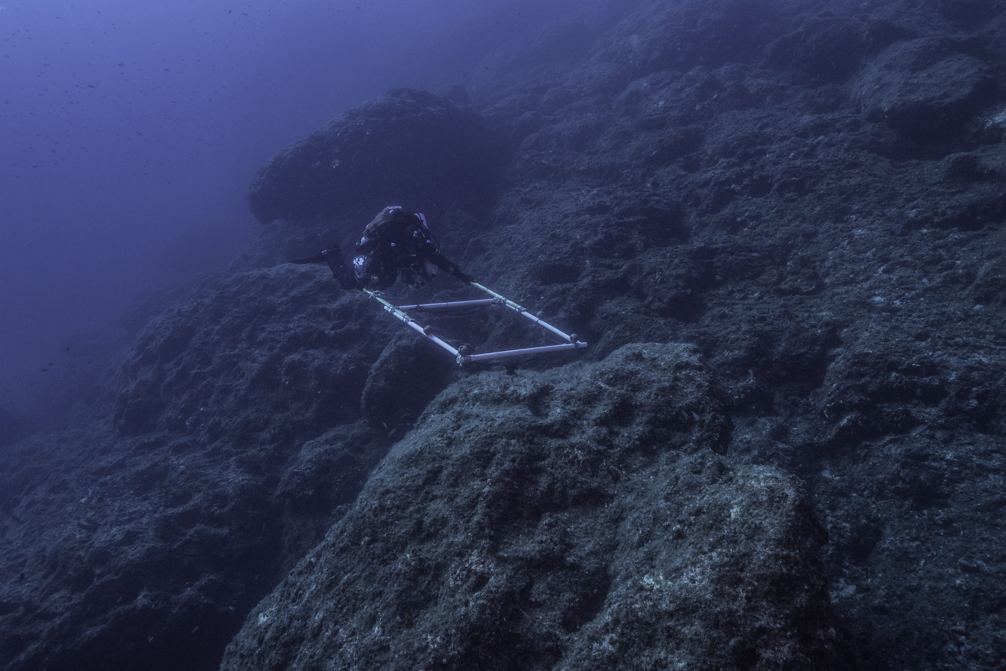 A new stage of excavation at the site of the wreck of the Antikythera ship